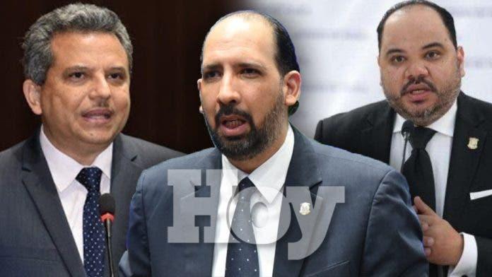 Perfil de los tres aspirantes a Defensor del Pueblo