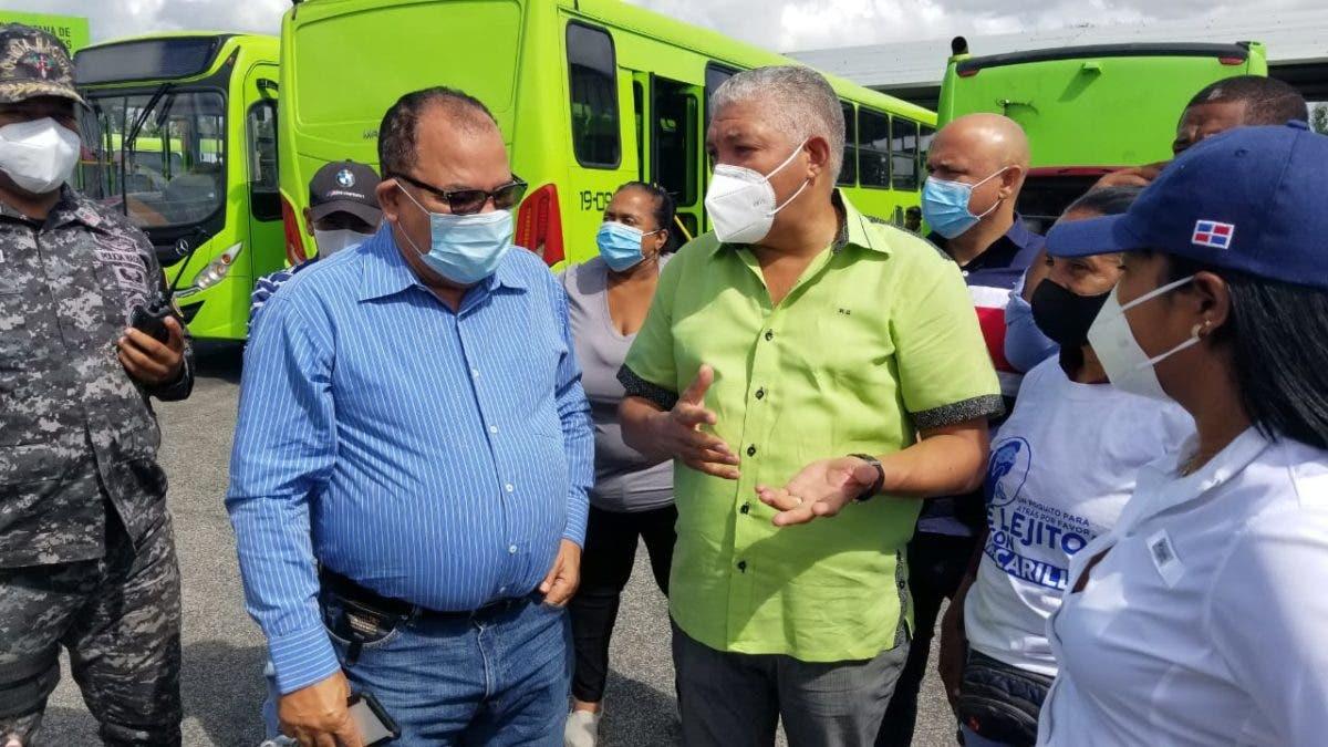 Omsa dispone 56 autobuses para la jornada de vacunación
