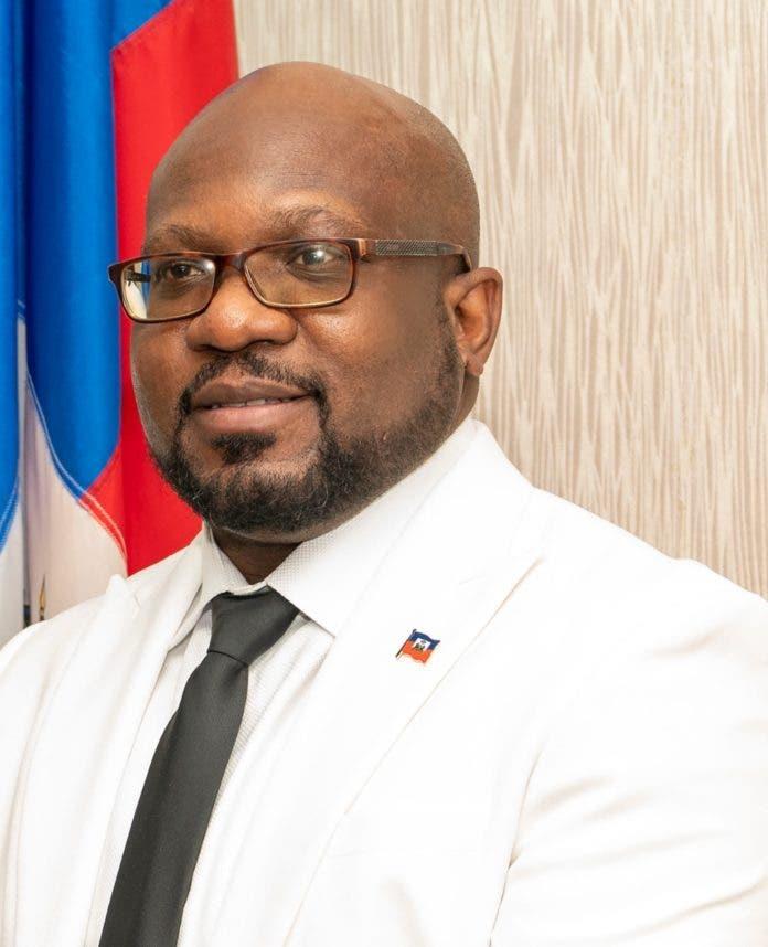 Smith Augustin, embajador de Haití / Fuente externa