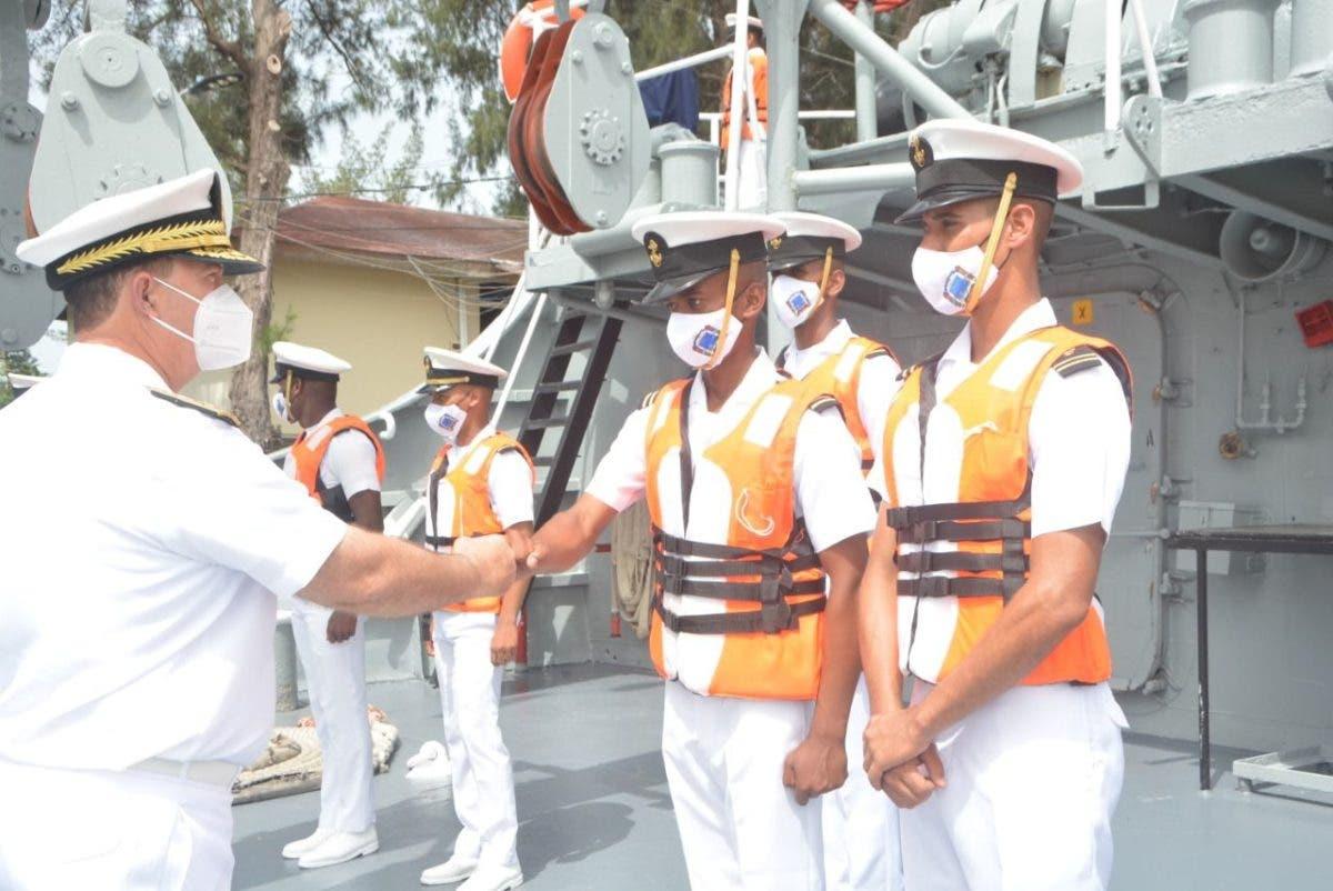 Guardiamarinas recorrerán las costas nacionales como parte de los entrenamientos