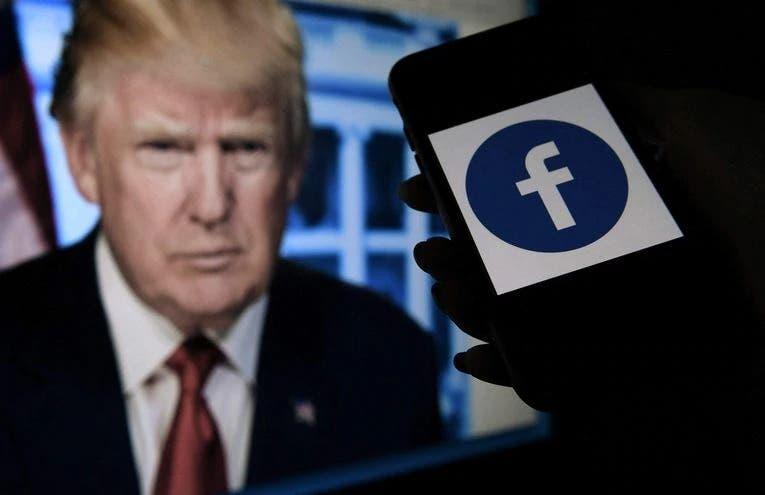 Trump califica veto de Facebook de insulto a los millones que votaron por él