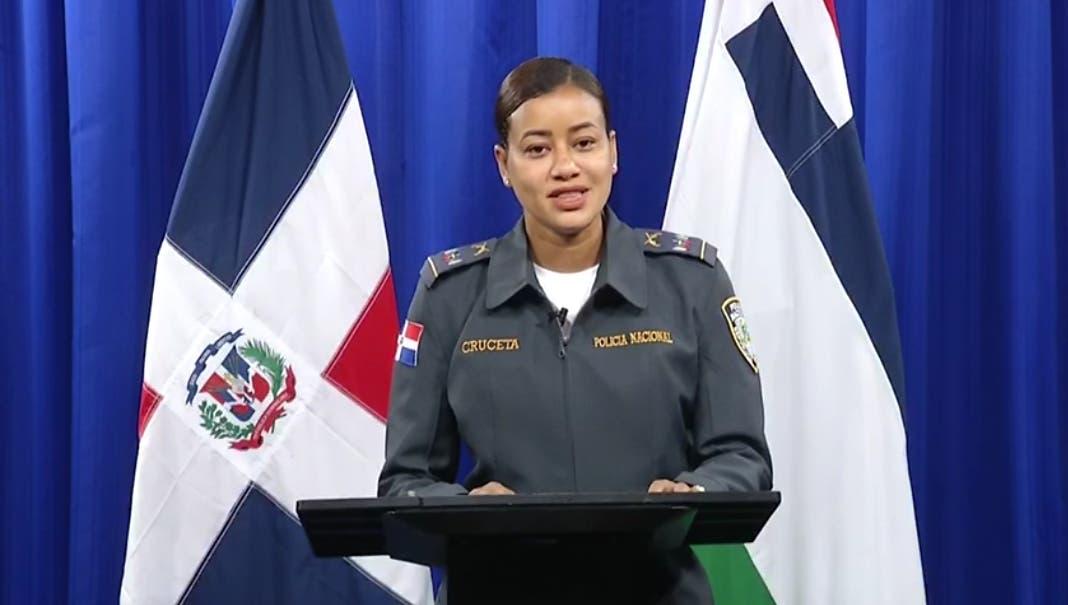 Designan a Ana Jiménez Cruceta vocera de la Policía Nacional, primera mujer en ocupar el cargo