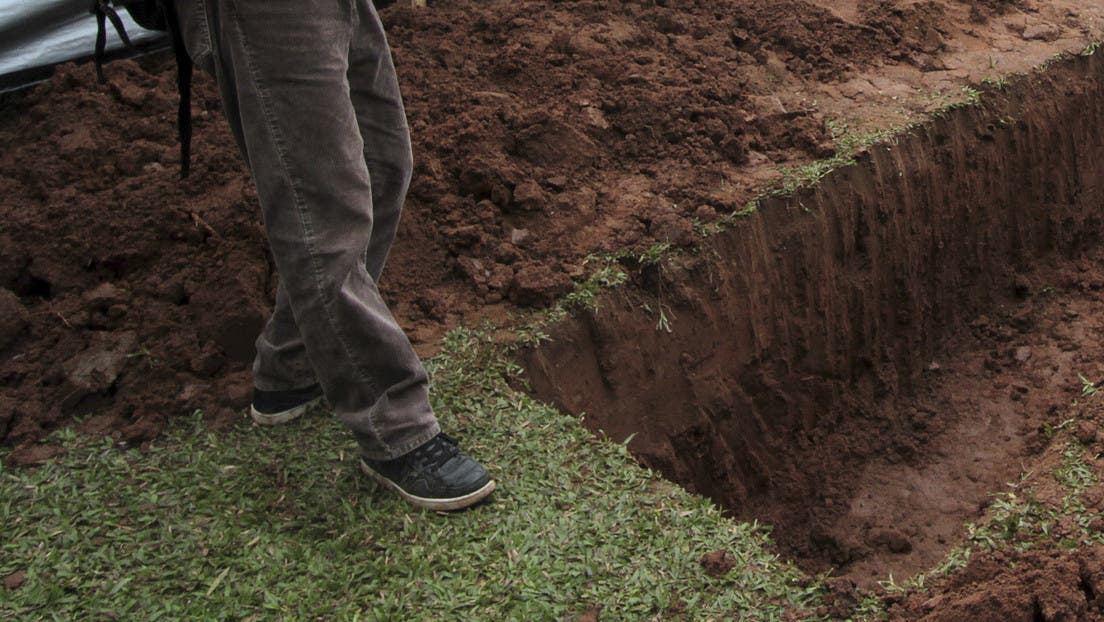 Cadáver intacto: 15 años enterrado y no tiene gusanos ni mal olor