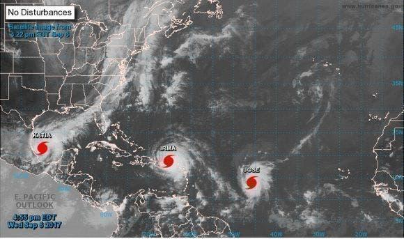 La OMM prevé entre 3 y 5 huracanes de alta intensidad en esta temporada