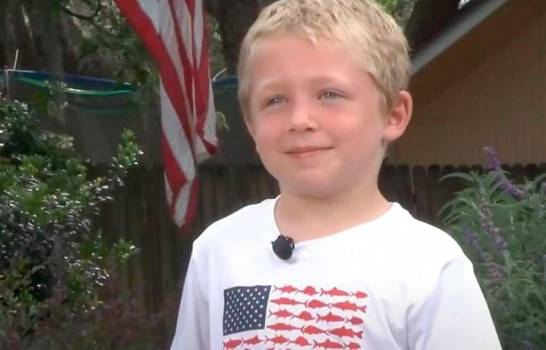EEUU: Niño de 7 años nada 1 hora, salva a padre y hermana