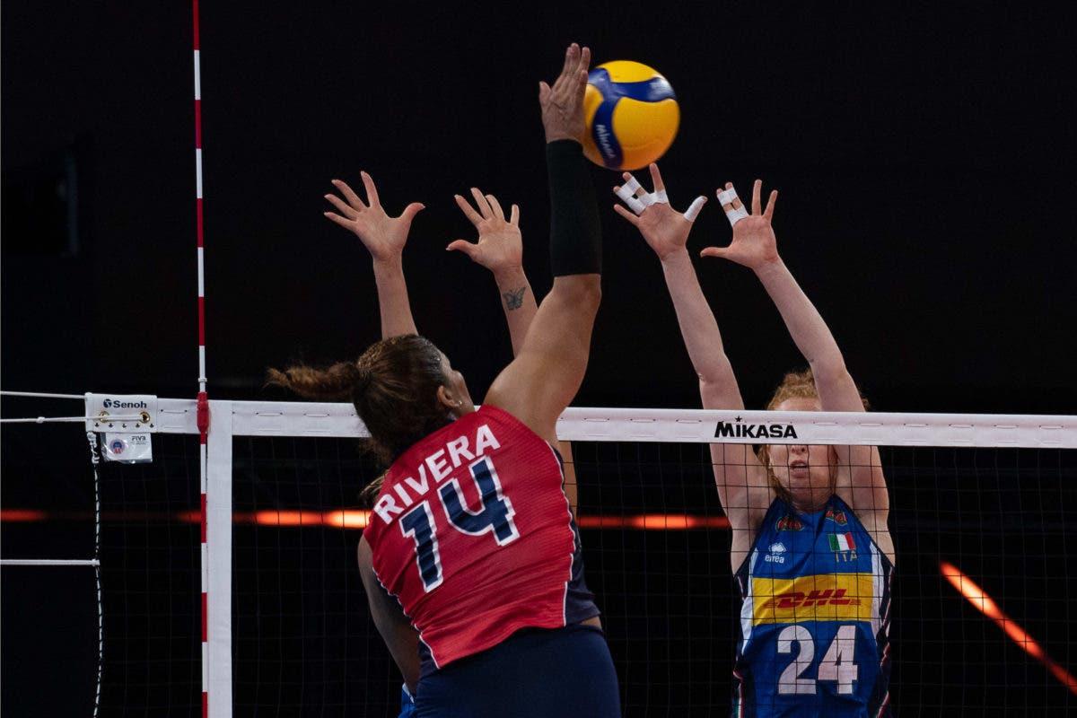 Reinas del Caribe derrotan 3-1 a Italia y logran tercer triunfo al hilo en LN