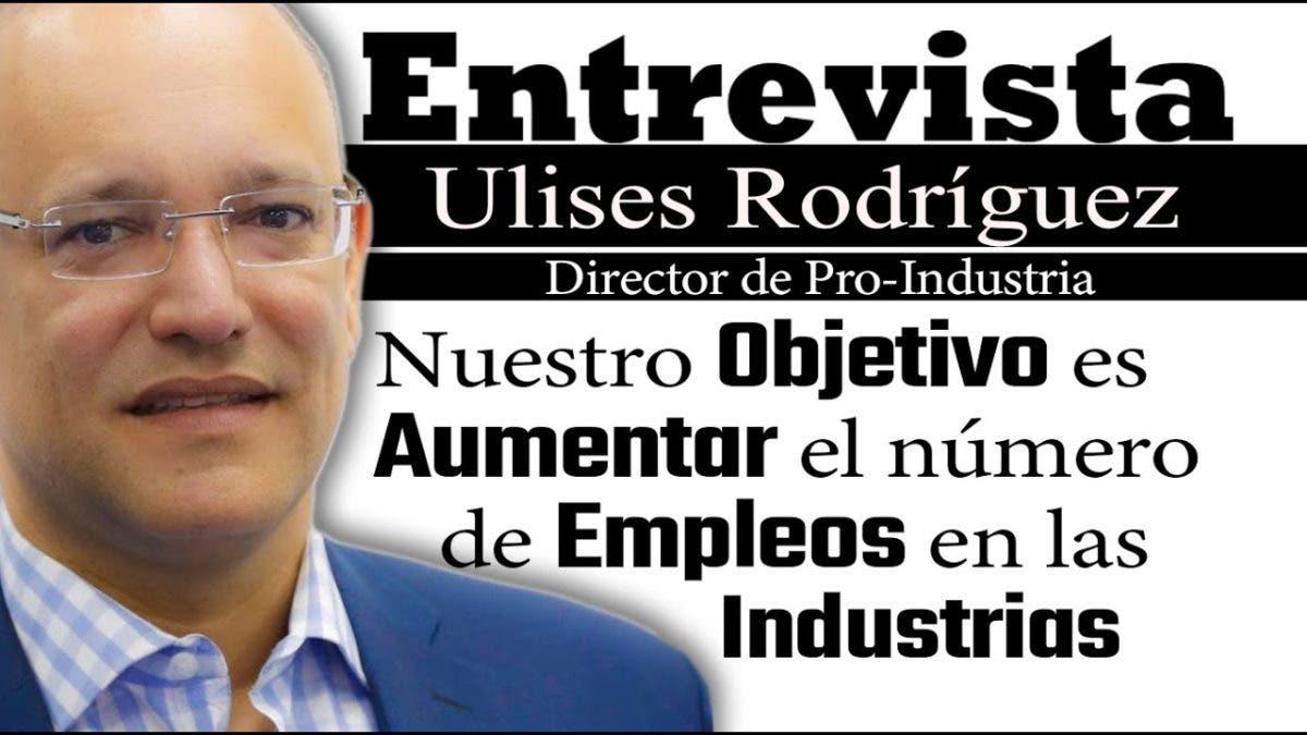 Entrevista a Ulises Rodríguez en el programa Telematutino 11
