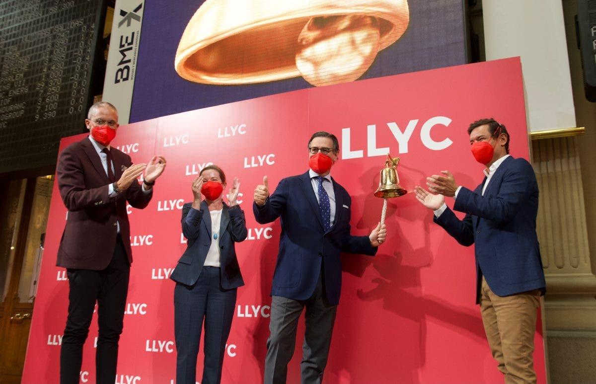 LLYC, firma de consultoría y comunicación, debuta en BME Growth