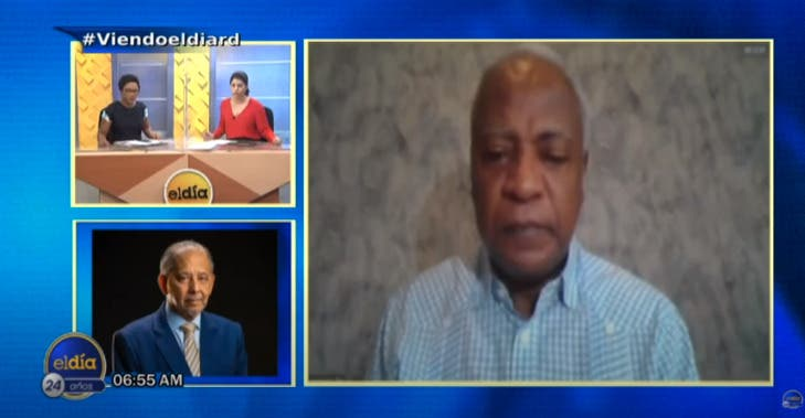 Entrevista a Edwin Paraison en el programa El Día
