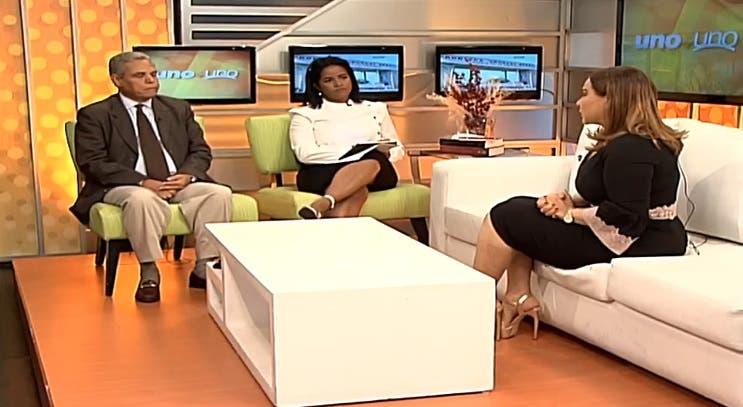 Entrevista a Mayra Jiménez en el programa Uno + Uno