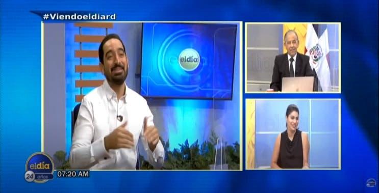 Entrevista a José Horacio en el programa El Día