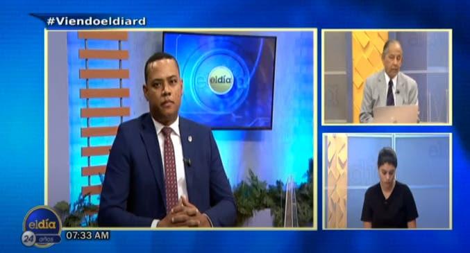 Entrevista a Gaddis Corporán en el programa El Día