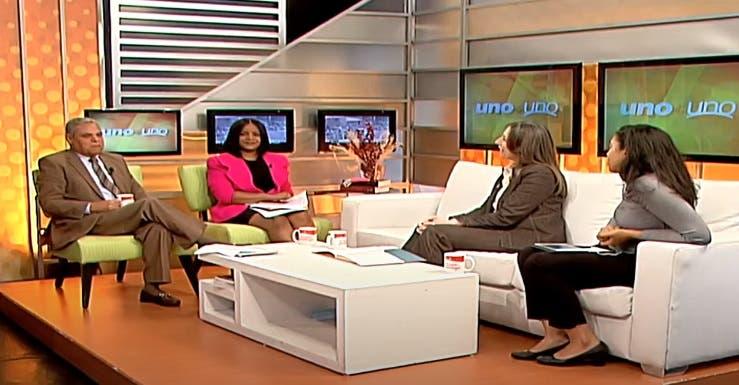 Entrevista a Dulce Chain en el programa Uno + Uno