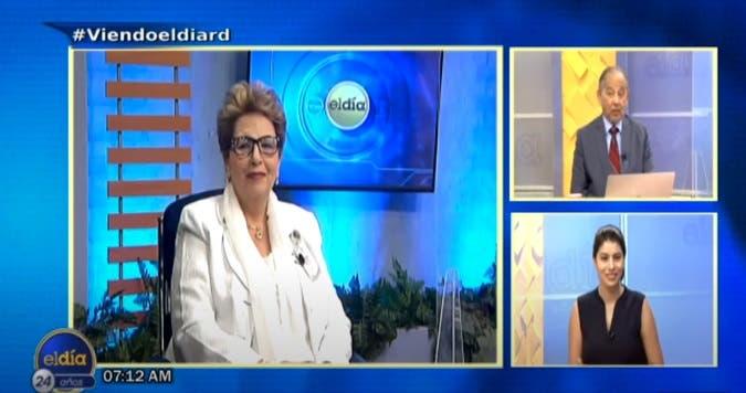 Entrevista a Ángela Tejada en el programa El Día