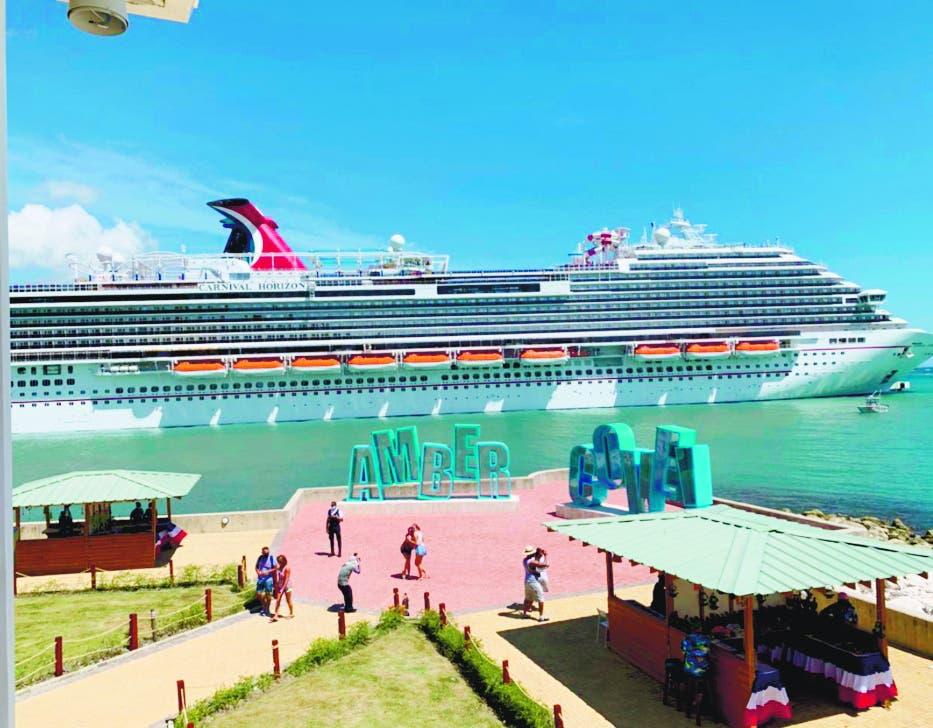 Cerca de 4 mil cruceristas llegaron ayer a Puerto Plata