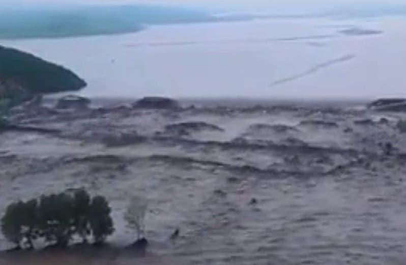 Dos presas se derrumban en el norte de China tras fuertes lluvias