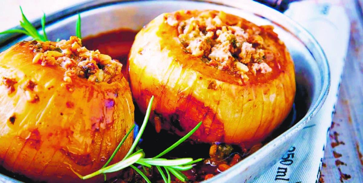 La cebolla como ingrediente principal