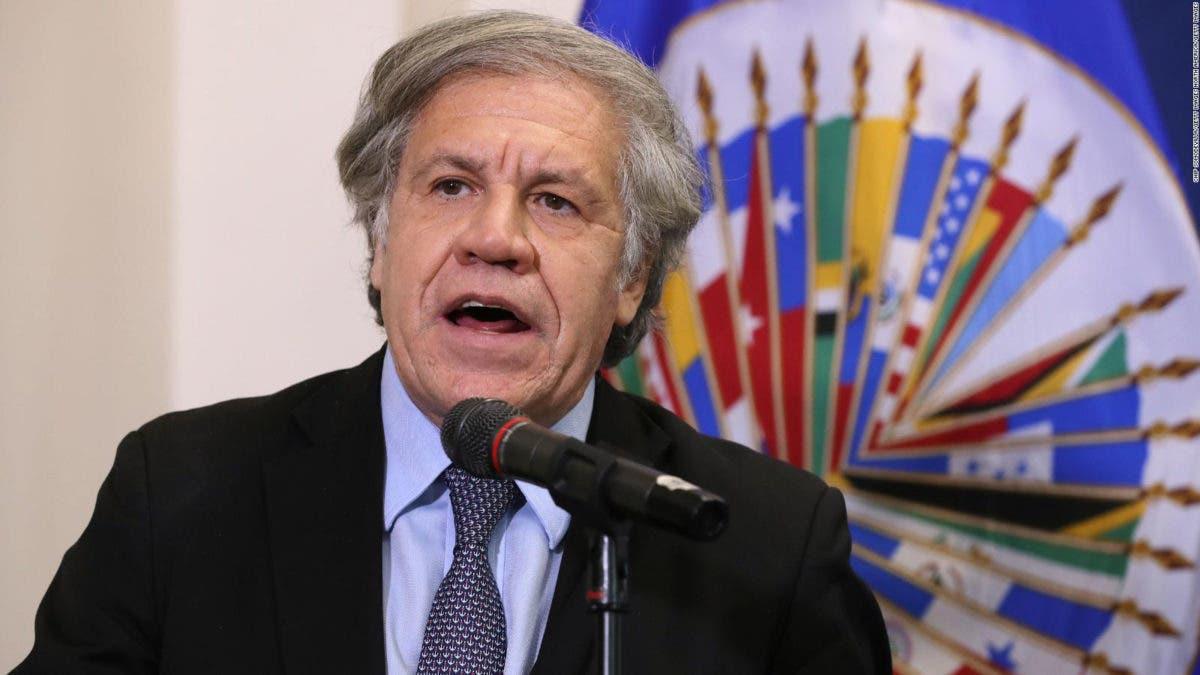 Secretario general de la OEA, Luis Almagro, da positivo al coronavirus