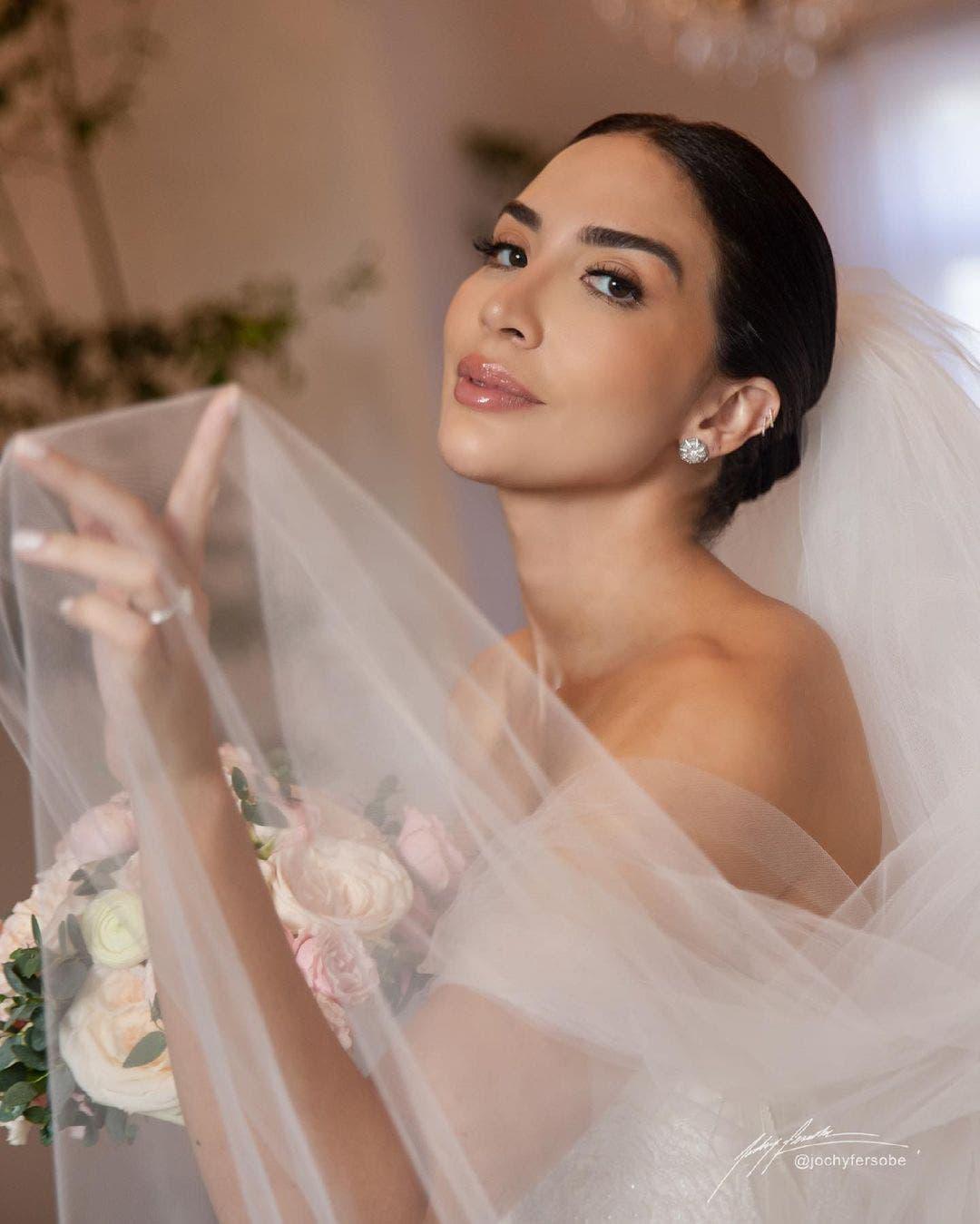 Fotos: Así lució Gabi Desangles su vestido de novia