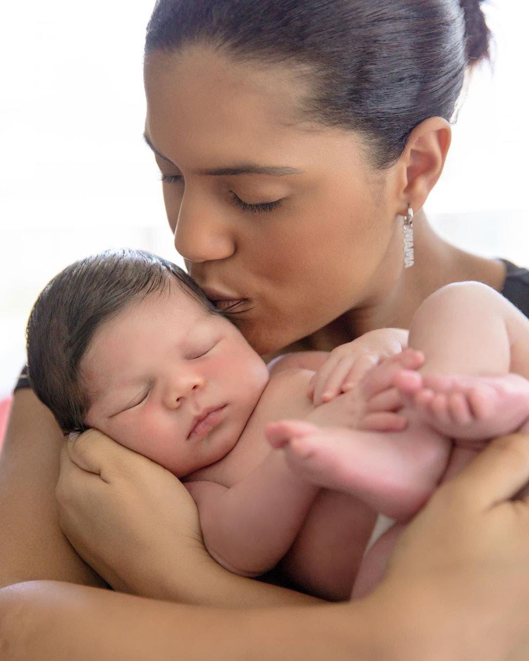 Nuevas fotos de Gennaro, el bebé de Francisca