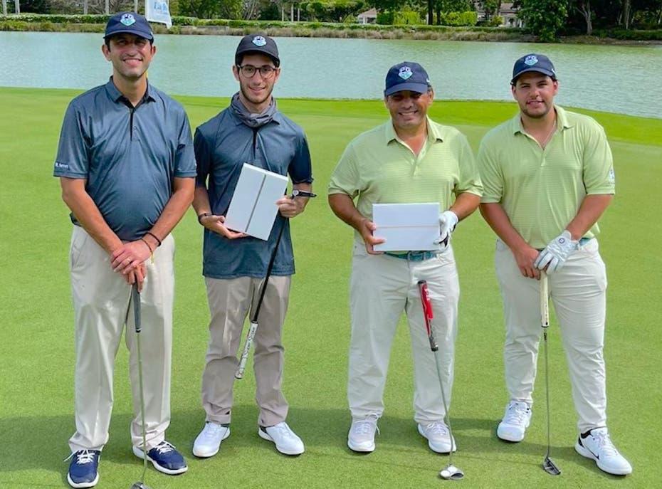 Torneo de golf entre padres e hijos