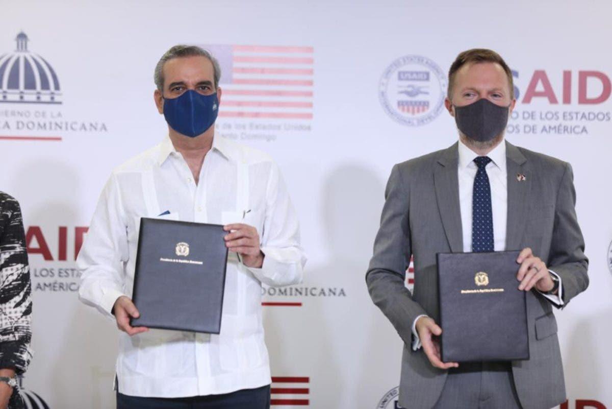 Abinader le reitera a los EE.UU que no tolerará la corrupción