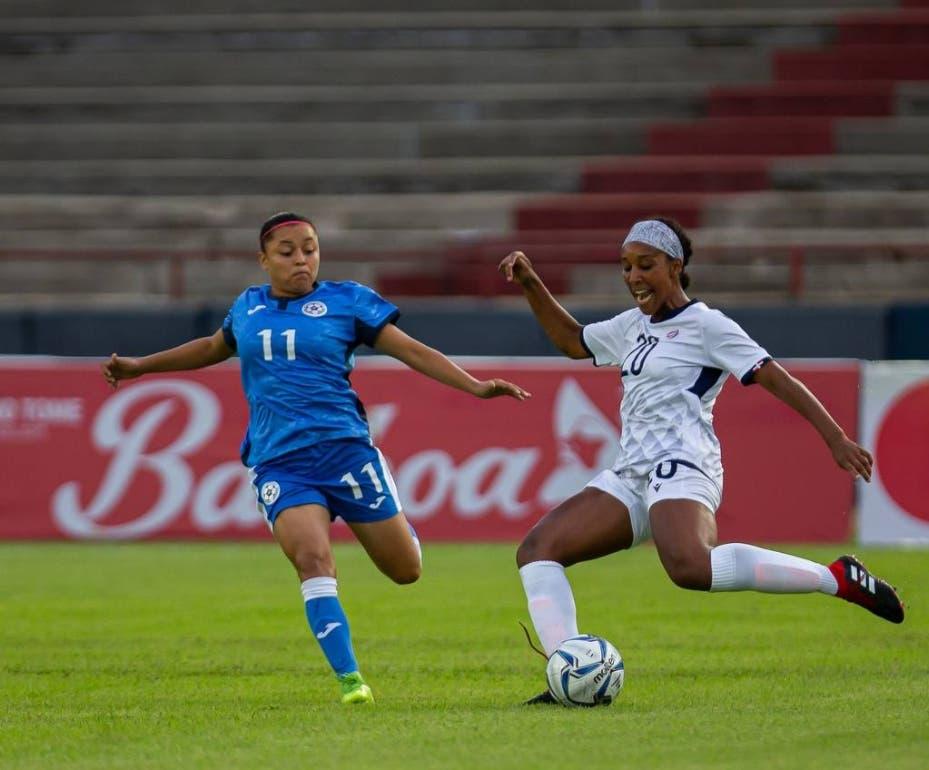 Nicaragua vence a RD en fútbol