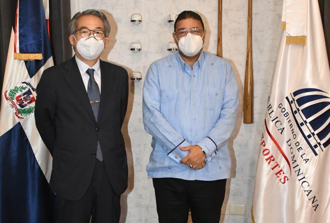 Camacho y embajador de Japón hablan sobre Juegos