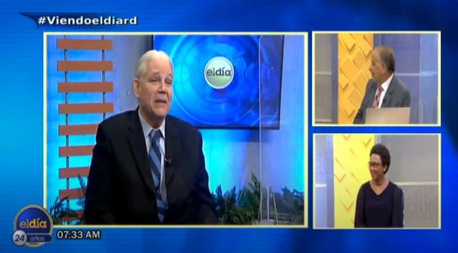 Entrevista a Jorge Marte en el programa El Día