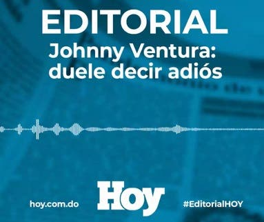 Johnny Ventura: duele decir adiós