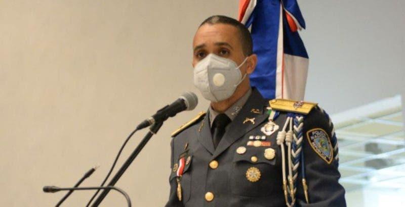El director de la Policía Nacional, mayor general Edward Sánchez González.
