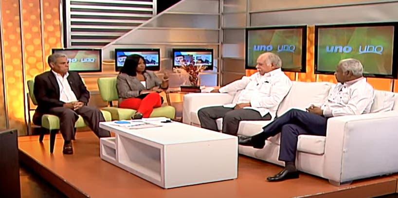 Entrevista a Edwin Paraison y Wilfredo Lozano en el programa Uno + Uno
