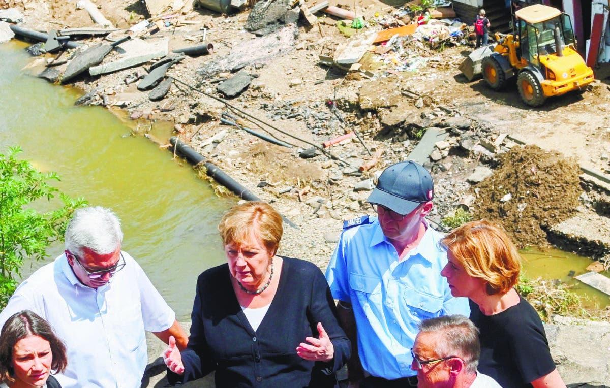 Europa suma más de 180 muertos por las inundaciones