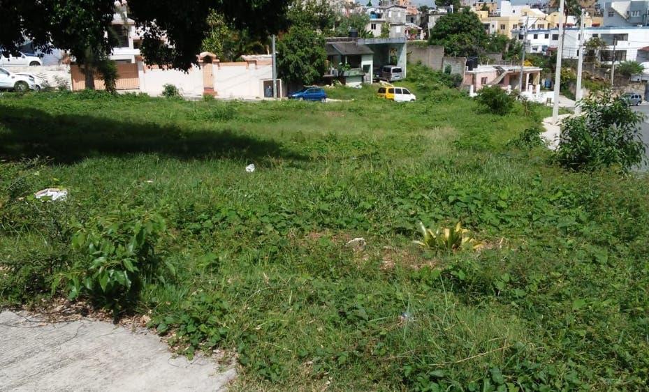 Vecinos de Guayabal denuncian hombre busca invadir área verde