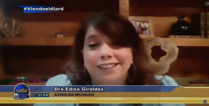 Entrevista a Ediza Giráldez en el programa El Día