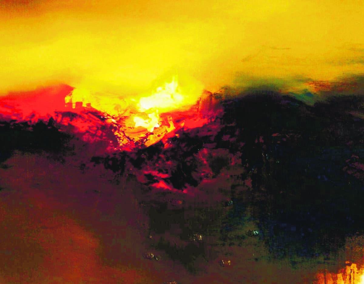 José Luis Bustamante Iluminación divina y tierras profundas
