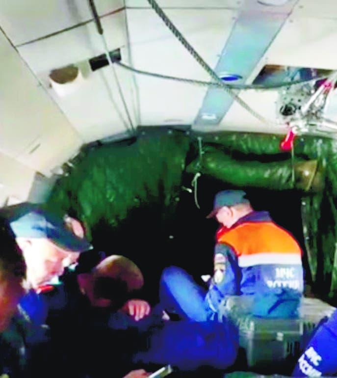 Dan por muerta 28 personas iban avión se estrelló Rusia