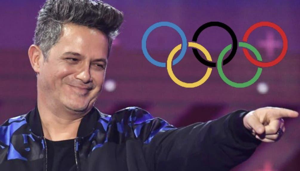 Alejandro Sanz participa en la ceremonia de inauguración de los Juegos Olímpicos de Tokio