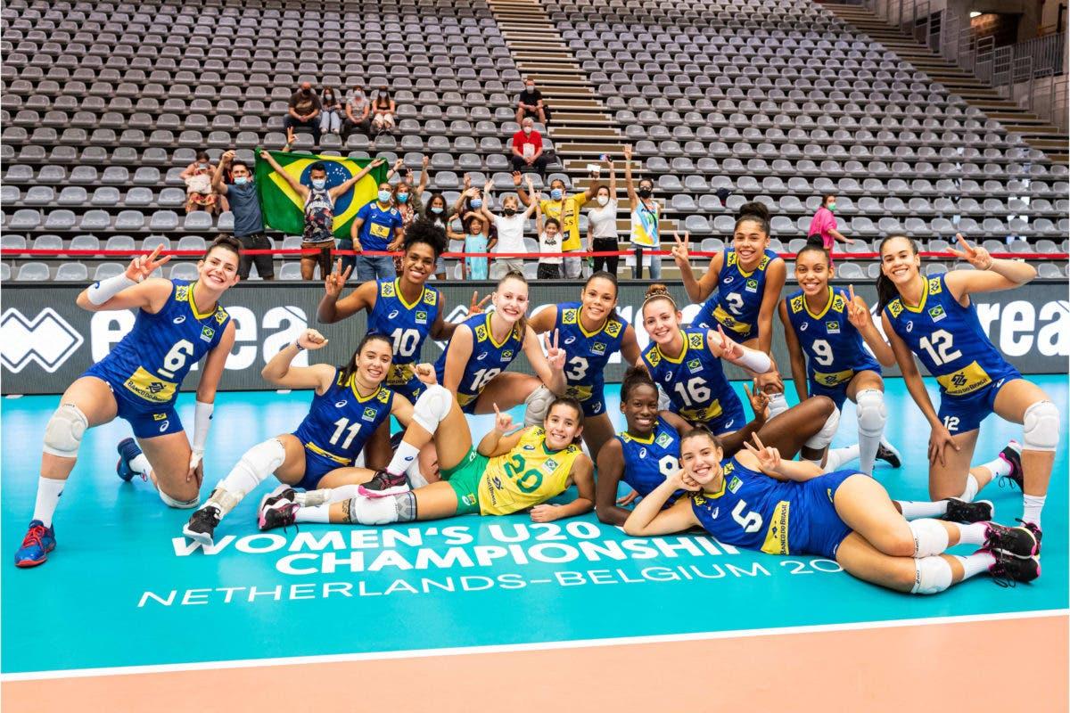 Brasil derrotó a República Dominicana en Mundial Sub-20