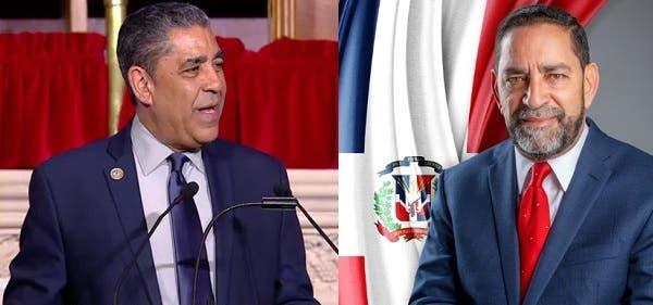 Congresista Adriano Espaillat valora gestión cónsul RD en NY