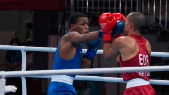 El dominicano Cedeño tuvo un debut aplastante en Juegos Olímpicos