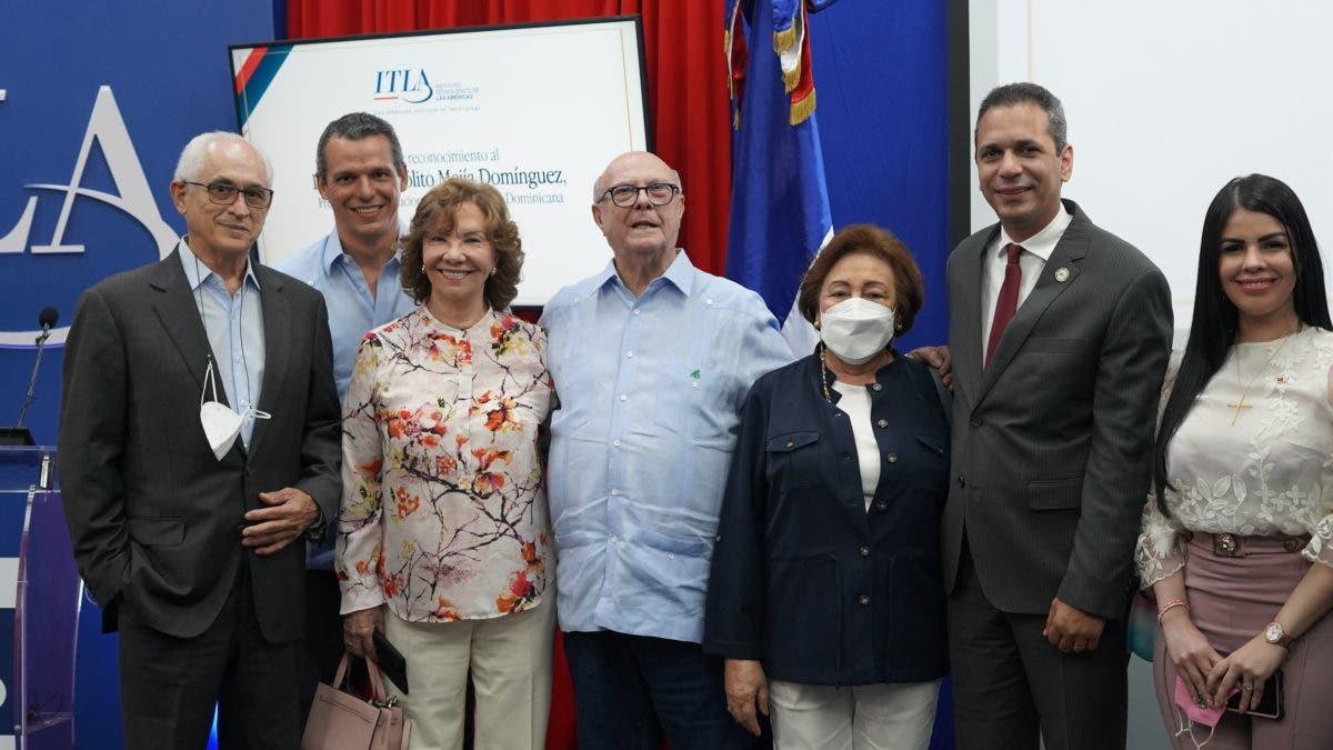ITLA reconoce a expresidente Hipólito Mejía