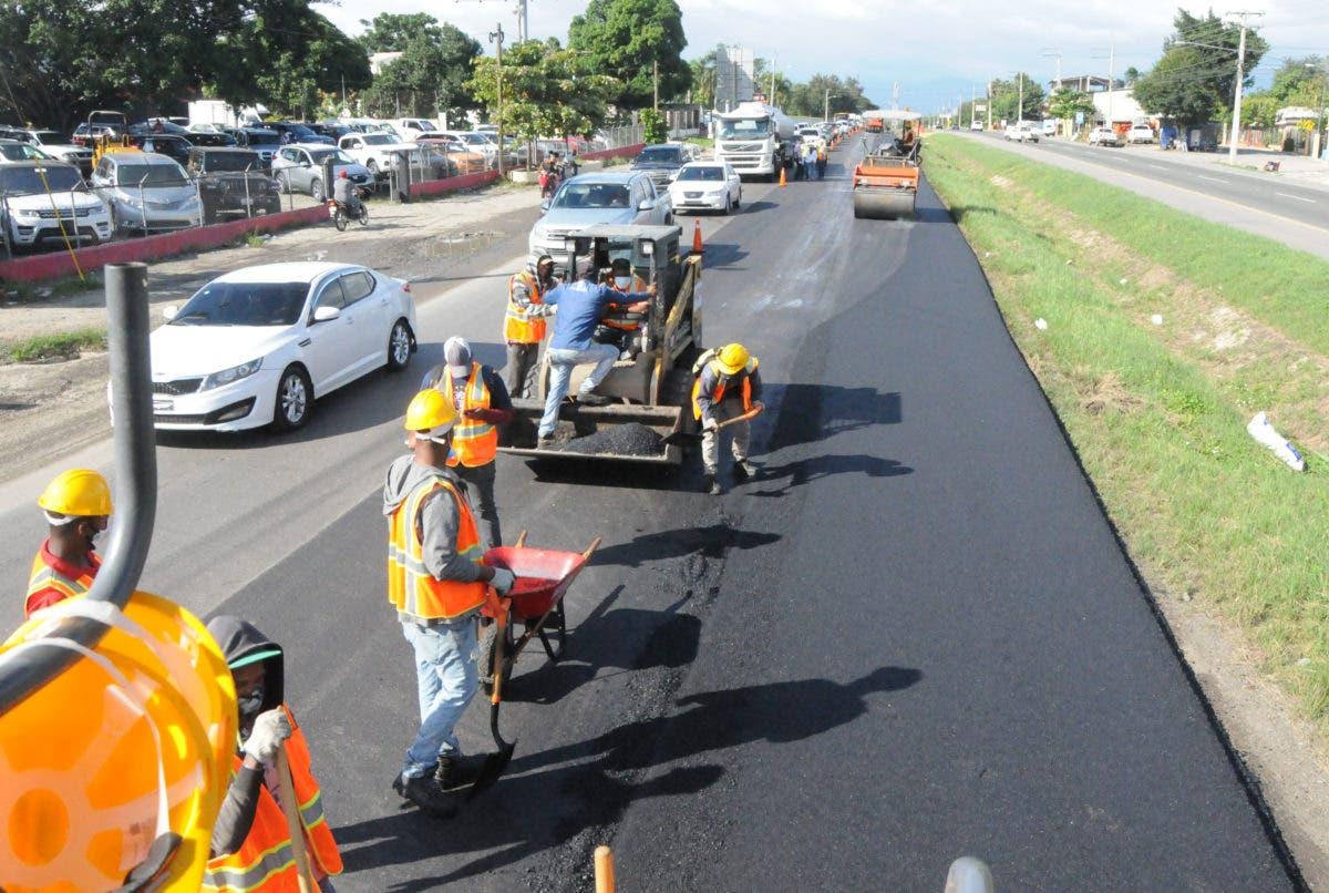 MOPC informa que habilitará carril provisional en La Penda en autopista Duarte por retorno vehicular