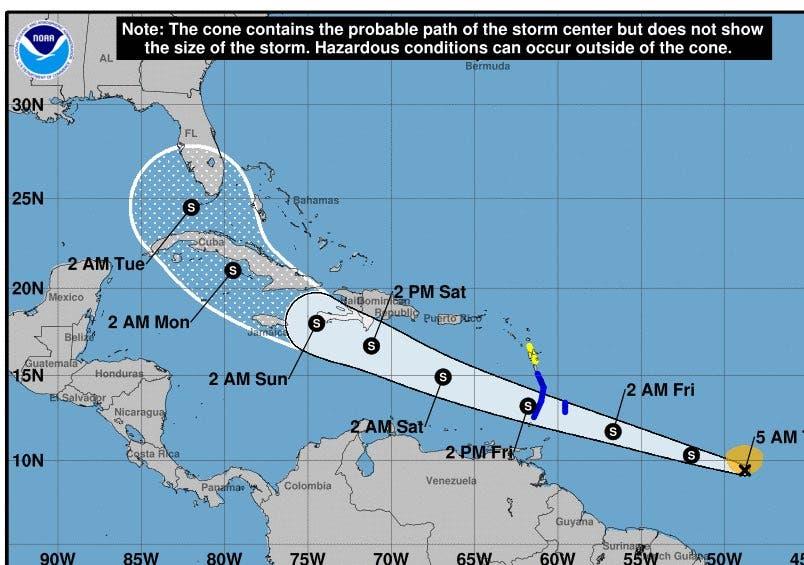 Onamet: Se forma tormenta tropical Elsa