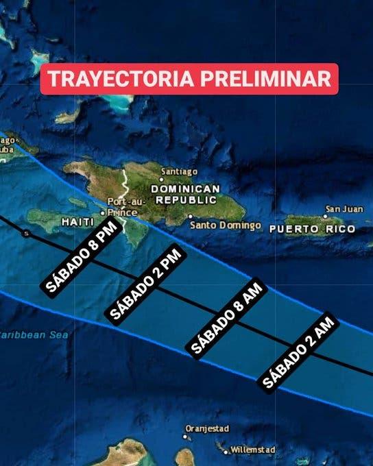 La tormenta tropical Elsa, transitará más alejada de RD