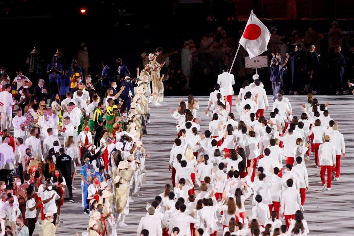 En Fotos: Desfile de los Juegos Olímpicos de Tokio