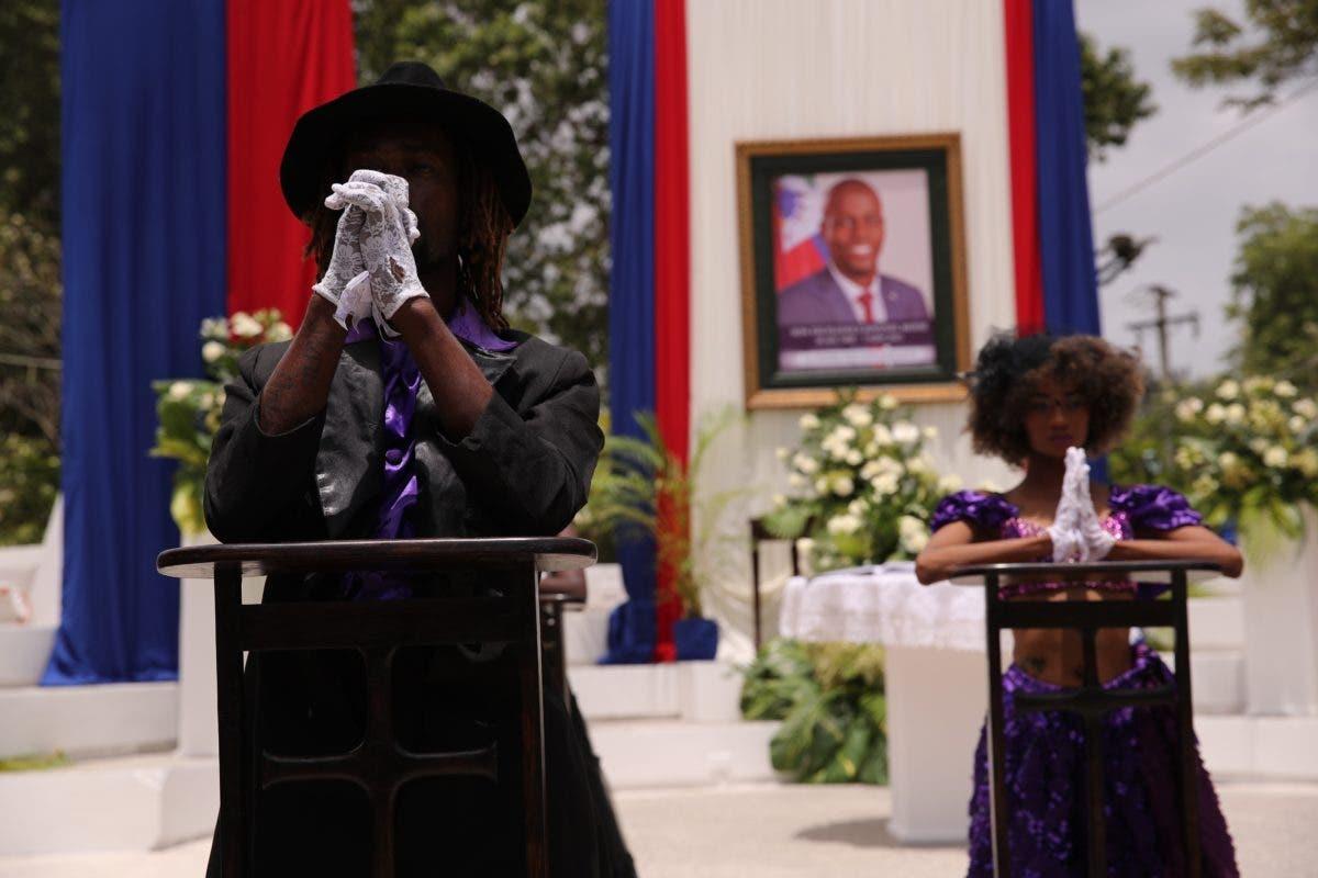 FOTOS: Gobierno haitiano rindió homenaje al asesinado presidente Jovenel Moise