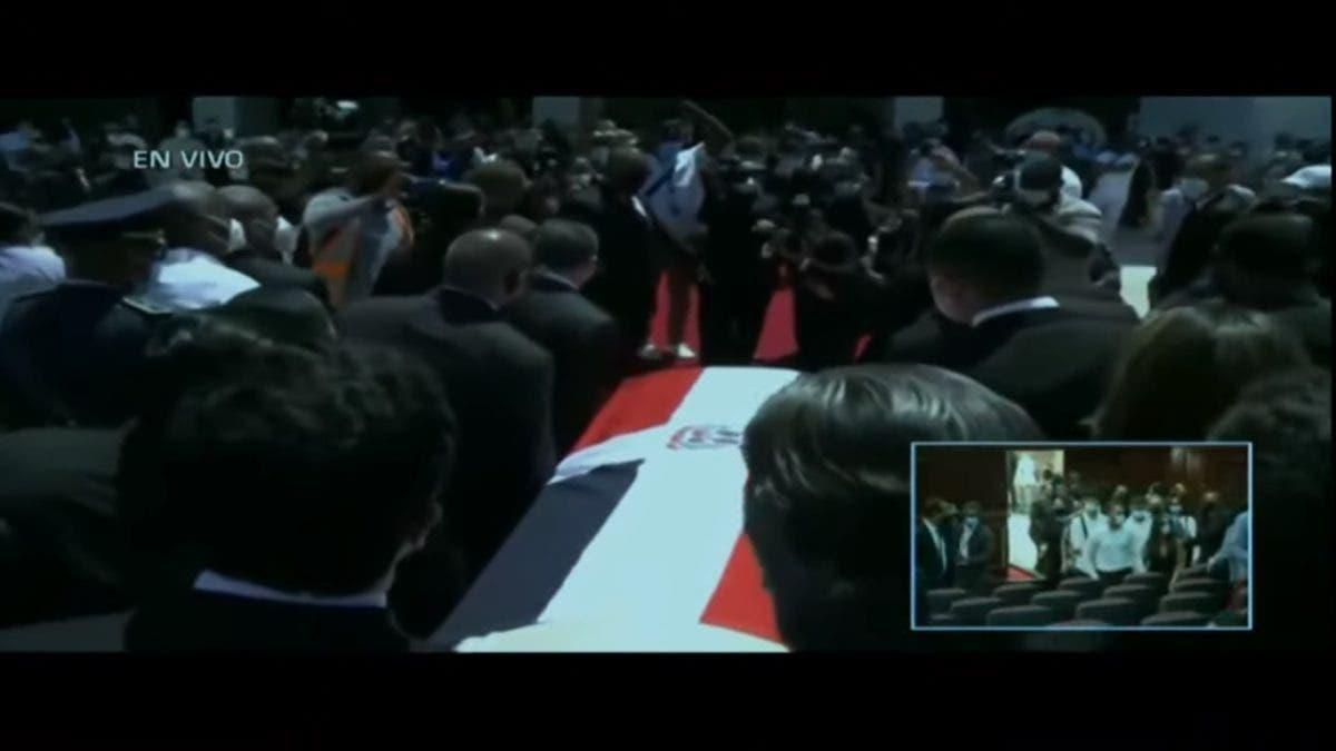 En vivo: Honras fúnebres a Johnny Ventura en la Cámara de Diputados