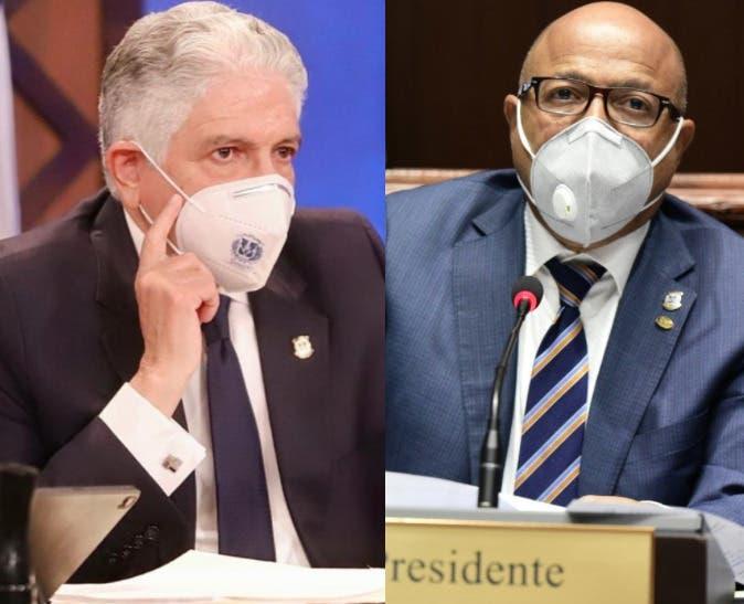 PRM ratifica a Eduardo Estrella y Alfredo Pacheco en el Senado y la Cámara de Diputados