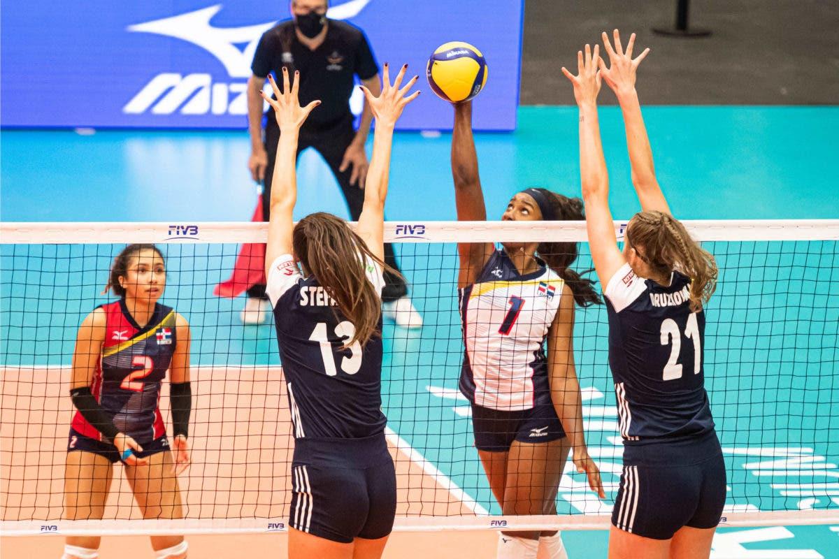 Polonia vence 3-0 a República Dominicana;  criollas pelearán por puestos del 5to al 8vo puesto